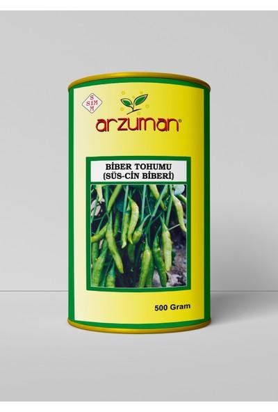 Arzuman Sarı Süs Biber Tohumu (Aşağı Bakan) 500 Gram