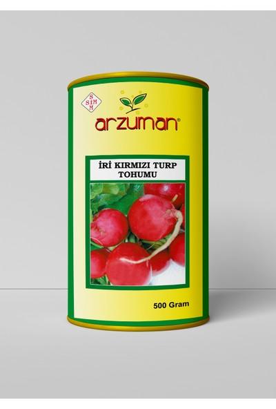 Arzuman Iri Kırmızı Turp Tohumu 500 Gram
