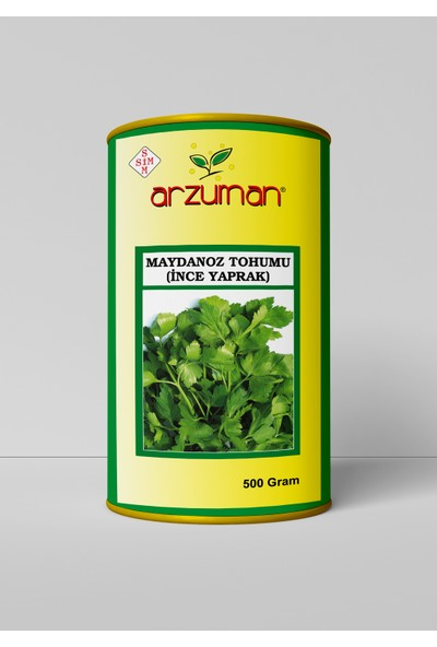 Arzuman Ince Maydanoz Tohumu 500 Gram