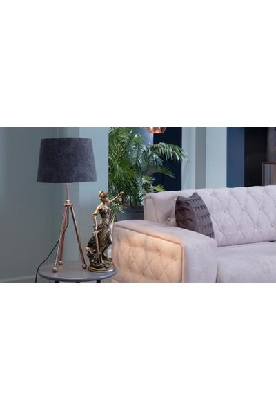 Mondi Tripod Abajur Modern Tarz Üç Ayaklı Gece Lambası
