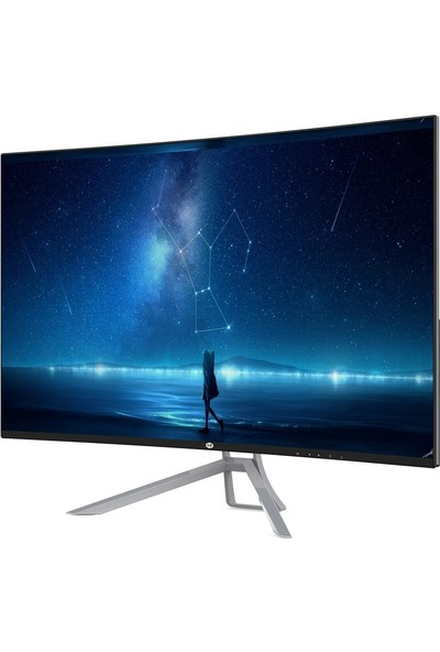 "Nightsilver NS23165 23.6"" 165Hz 1ms (HDMI+Display) Full HD Curved LED Monitör"