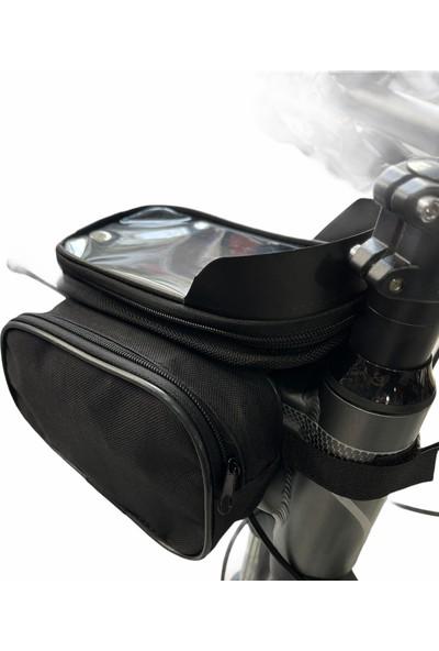 Çelikoğlu Bisiklet Çantası Heybe Tarzı Telefon Tutuculu(Çelikoğlu Bisiklet)