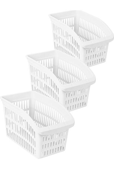 Box&box 3 Lü Dolap Düzenleyici - Beyaz