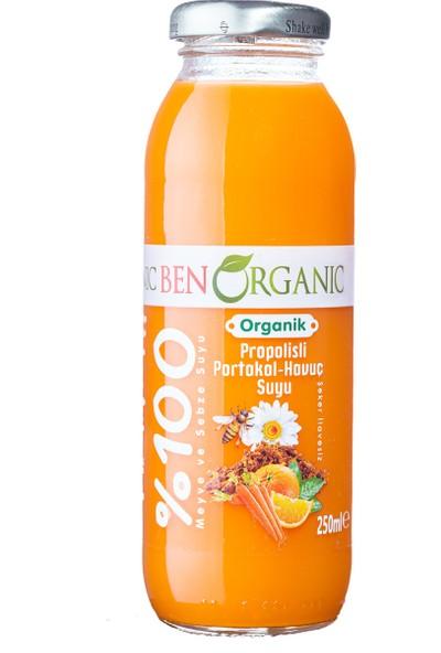 Benorganic Propolisli Portakal Havuç Suyu 1 x 250 ml