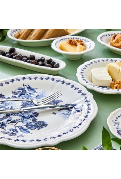 Bella Maison Vanessa 26 Parça 6 Kişilik Kahvaltı Takımı Mavi