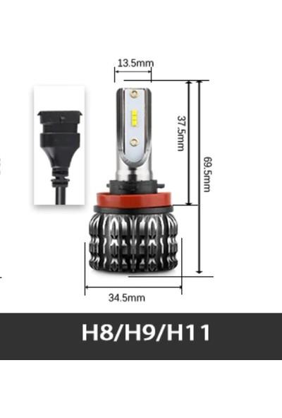 Femex Citröen C4 LED Xenon Sis Far Ampulu Femex Eco Power H8 H11