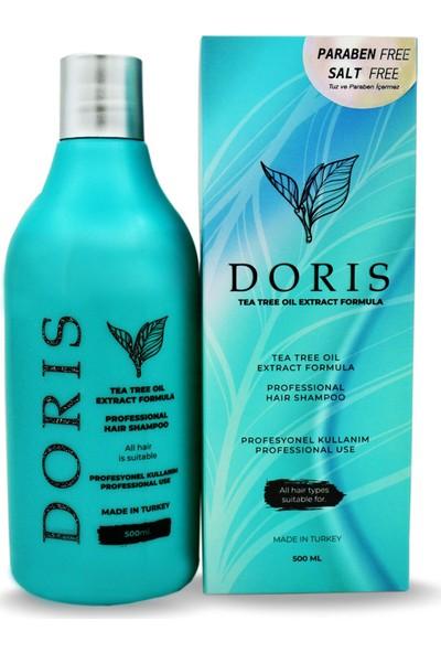 Doris Çay Ağacı Yağı Özü Formüllü Şampuan