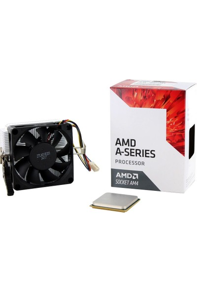 AMD A-Serıes A8 9600 3.10 / 3.40 Ghz 2mb Am4 Mpk Işlemci+Fan 65W