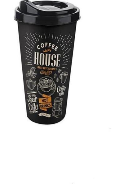 Titiz Big Coffee 650 ml. Plastik Bardak