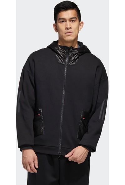 Adidas Siyah Erkek Günlük Ceket M Tech Hoodie Gh4806