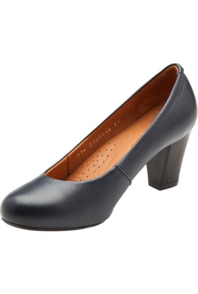 Hush Puppies Ezra Lo Kadın Lacivert Ayakkabı