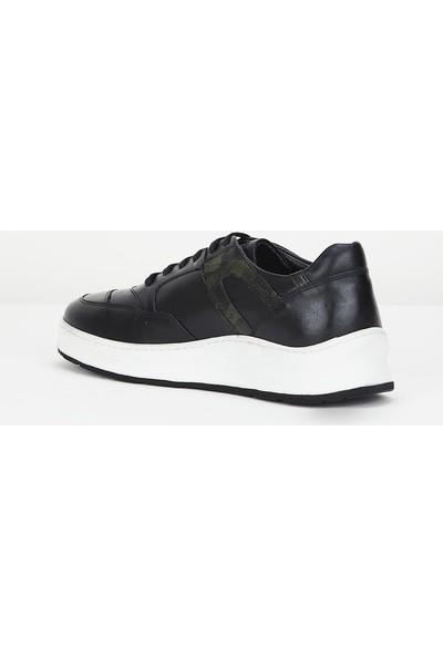 Hush Puppies 1027 Erkek Siyah Ayakkabı