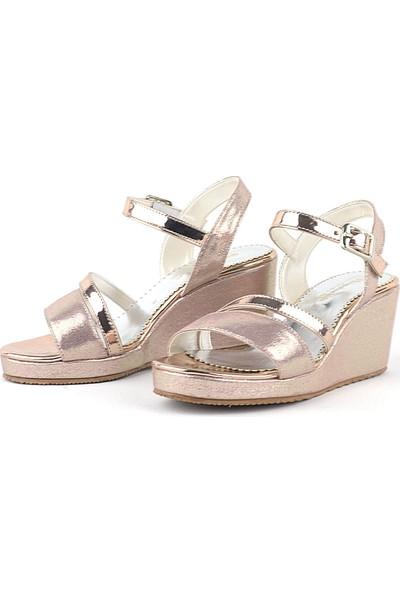 Hapshoe Rose Kız Çocuk Dolgu Topuklu Ayakkabı