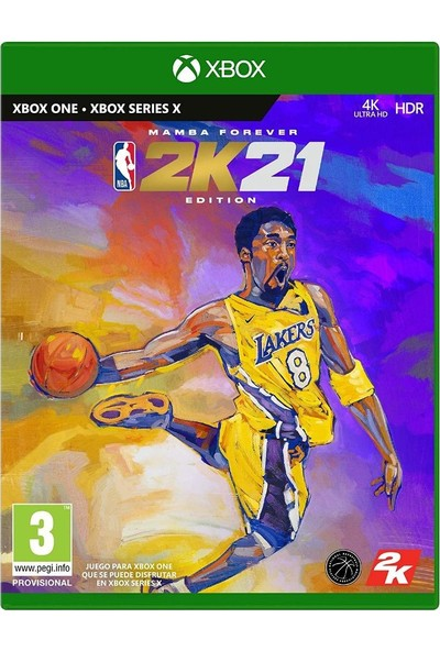 NBA2K21 Mamba Forever Edition Nba 21 Xbox One Oyun