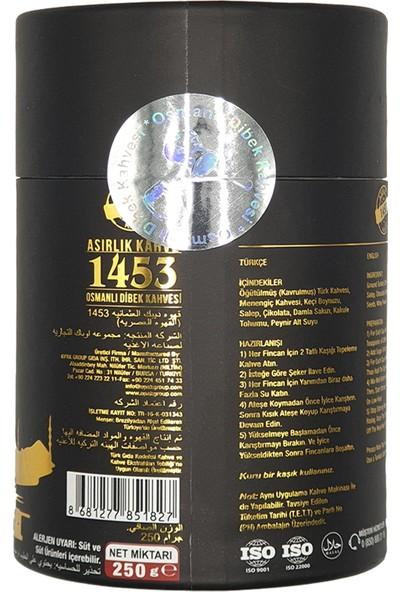 Asırlık Kahve 1453 Asırlık 1453 Osmanlı Dibek Kahvesi ( 250 gr ) 24'lü