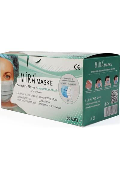 Mira Cerrahi Maske 50 Adet
