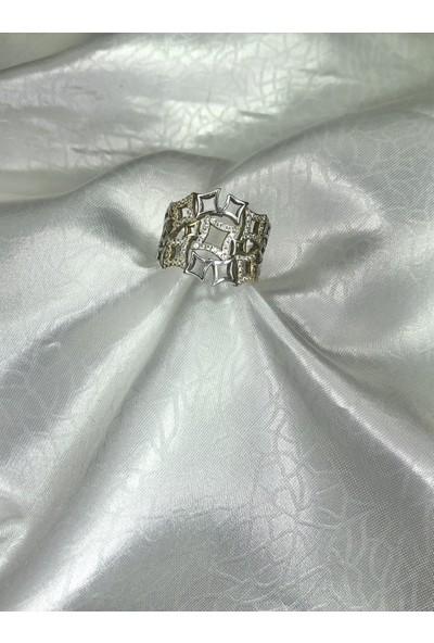 Selens Kadın Gümüş Yüzük 925 Ayar