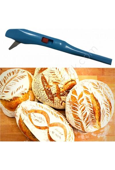 Yeni11 Hamur Çizme Jileti Somun Ekmek Çizme Aparatı 2 Adet