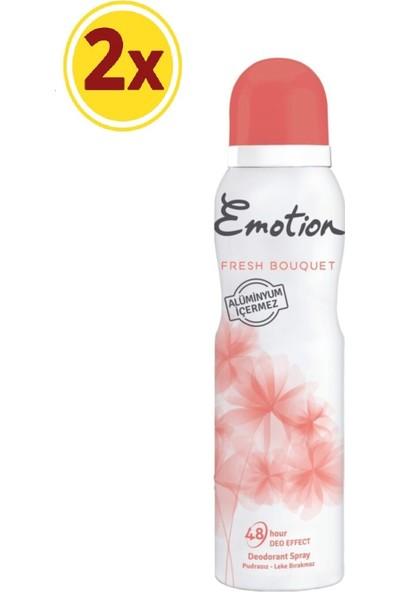 Emotion Fresh Bouquet Kadın Deodorant 2 x 150 ml