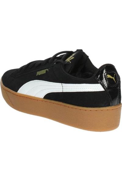 Nike Puma Vikky Platform Siyah Kadın Spor Ayakkabı 363287 10