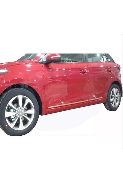 İntakrom Hyundai I20 Krom Yan Kapı Çıtası 4 Parça 2015 Üzeri