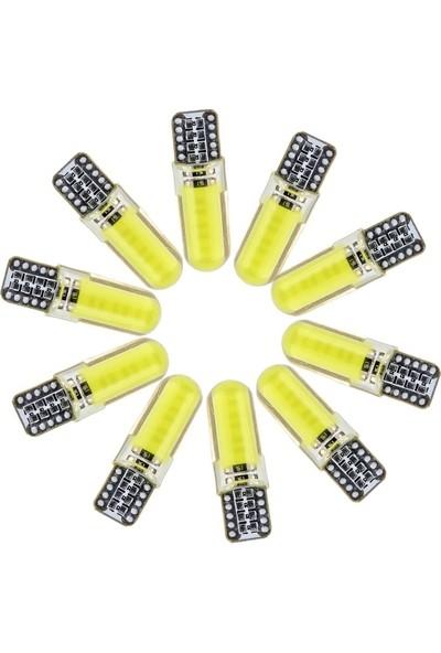 Cooltech T10 W5W Iç Lamba-Park-Plaka LED Ampul Beyaz 10 Adet