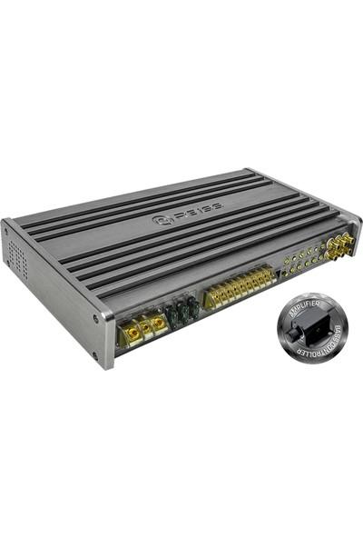 Reiss Audio RS-XS5080.5 100 WATTX4+300 Wattx1 5 Kanal Oto Anfi