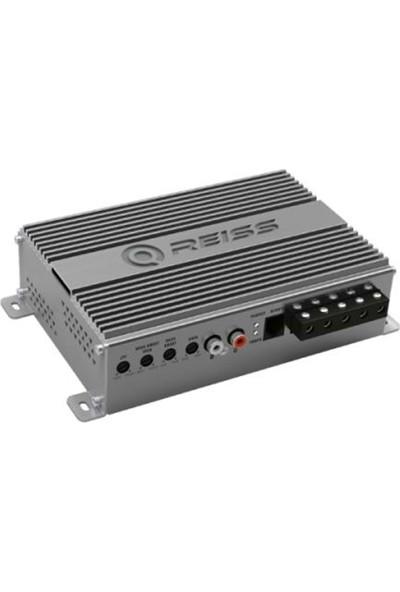 Reiss Audio RS-600.1F 600 Watt Mono Tek Kanal Anfi