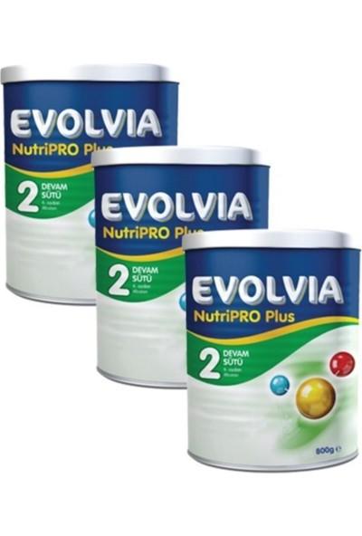 Evolvia 2 Devam Sütü Nutripro Plus 800 gr 3 Adet