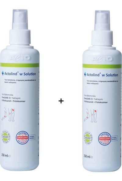 Acto Actolınd® W Solutıon 2'li Yara Bakım Solüsyonu 250 ml