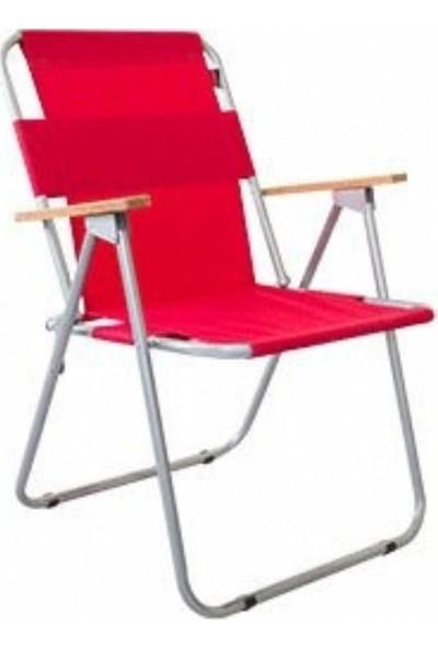 Zizuva Ahşap Kollu Katlanır - Tekli Sandalye