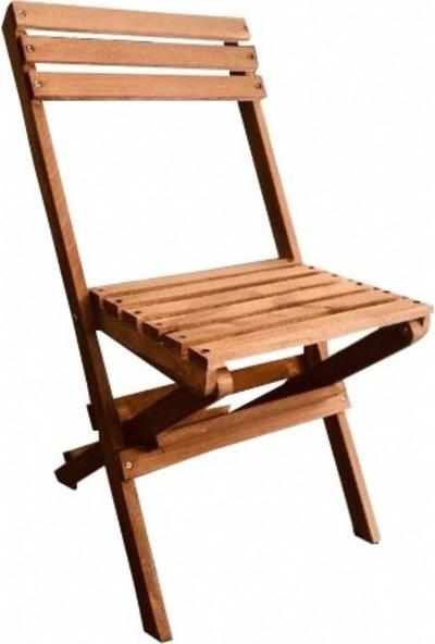 Zizuva Ahşap Katlanır Sandalye