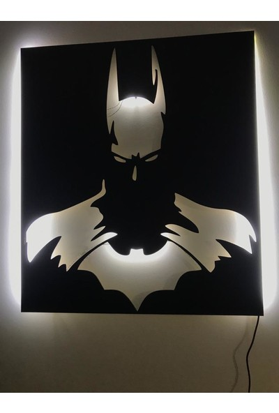 Dekoraven Batman Işıklı Tablo