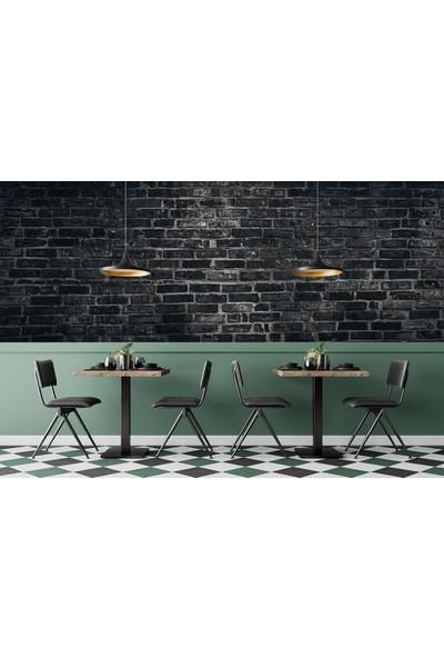 Penta Siyah Tuğla Duvar Posteri ARC72682 250 x 102 cm