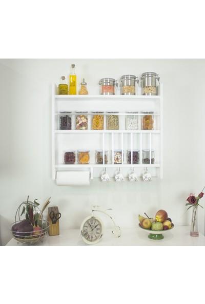 Ankaflex Mutfak Dolabı Rafı Terek Mutfak Tereği Baharatlık