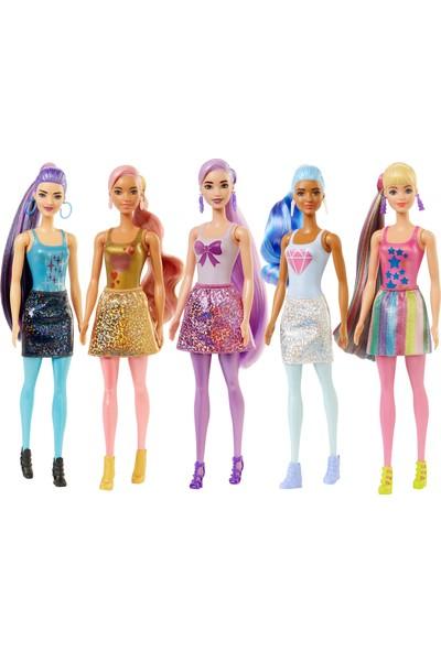 Barbie Color Reveal Renk Değiştiren Sürpriz Barbie Işıltılı Bebekler Serisi 3 Yaş Ve Üzeri Kızlar İçin 7 Sürpriz İçerir Gwc55