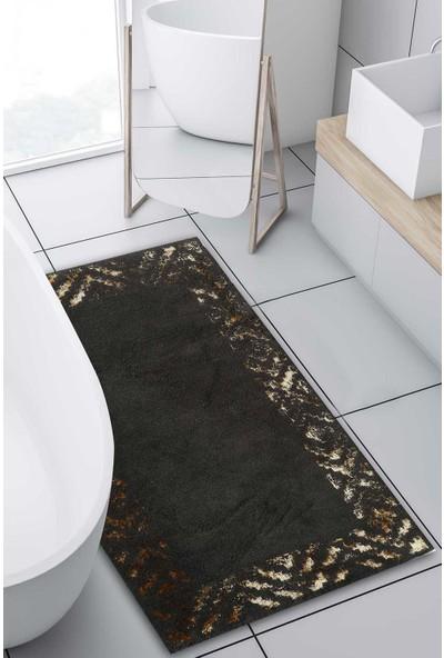 Hermes Pamuk Floş Banyo Paspası 70 x 120 Gold