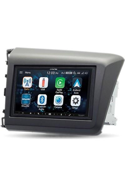 Alpine Honda Civic Carplay Androidauto Multimedya Sistemi