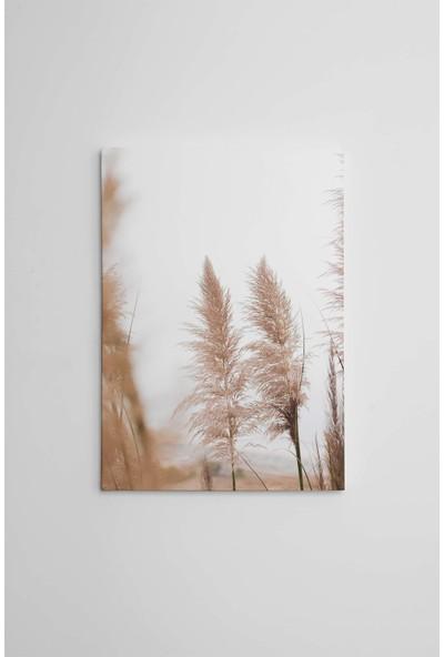 Dekoliya Süs Bitkileri Dekoratif Kanvas Tablo 30 x 45 cm