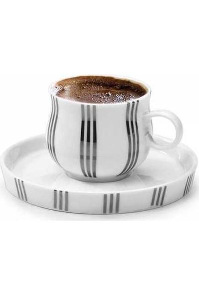 Korkmaz A8652 Heybeli 12 Parça 6 Kişilik Kahve Fincan Takımı
