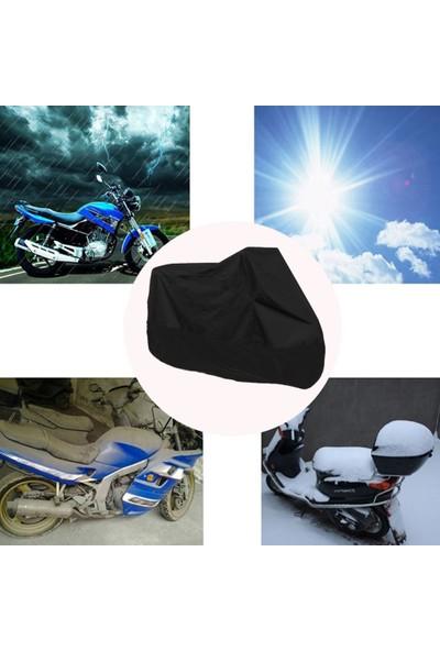 Autoen Yamaha Crypton Motosiklet Brandası Motor Brandası Siyah