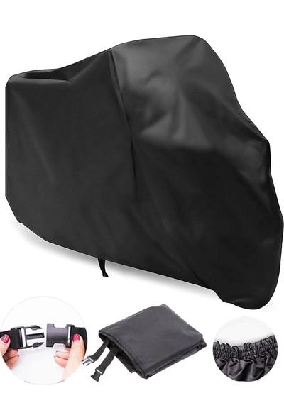 Autoen Kymco Venox 250 Motosiklet Brandası Motor Brandası Siyah