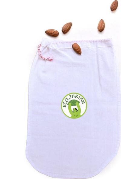 Ecotarian Koton Tekrar Kullanılabilen Badem Sütü Kesesi