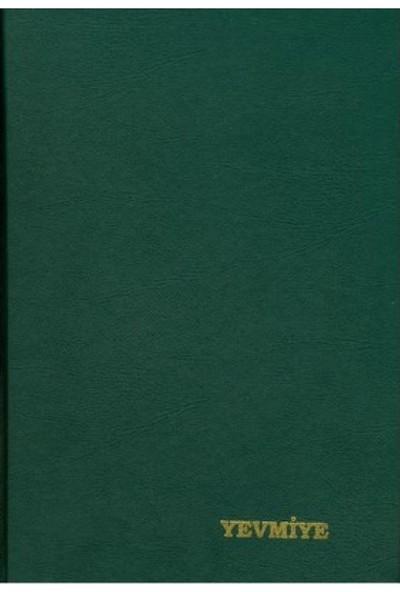 Dilman Yevmiye Defteri Koyu Yeşil 21 x 30 cm