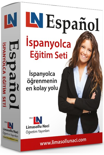 Limasollu Naci İspanyolca Eğitim Seti