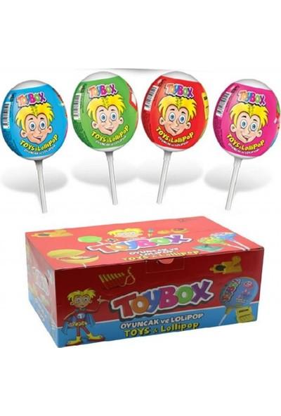 Toybox Süpriz Oyuncaklı Lolipop 12 x 11 G