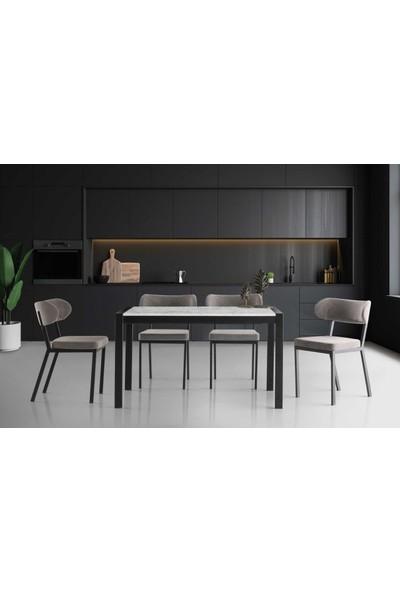 VRL Adele Mutfak Masası Fine Sandalye Takımı