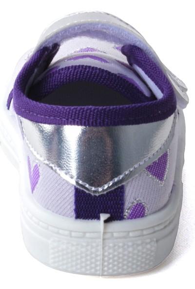 Sanbe 401 R 013 Anatomik Kız Çocuk Keten Ayakkabı