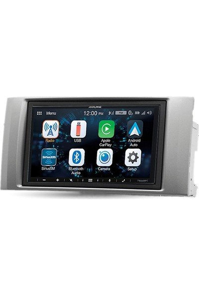 Alpine Isuzu D-Max Carplay Androidauto Multimedya Sistemi