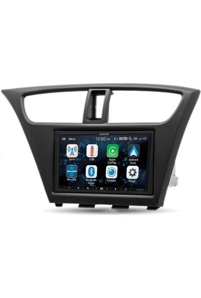 Alpine Honda Civic Hb Carplay Androidauto Multimedya Sistemi